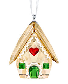 Swarovski Gingerbread House Ornament