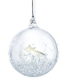 Swarovski Annual 2018 Edition Christmas Ball Ornament
