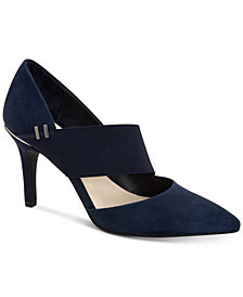 Alfani Women's Shellii Cutout Pumps, Created For Macy's