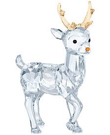 Swarovski Santa's Reindeer Figurine