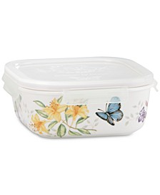 Butterfly Meadow Square Serve-N-Store With Lid