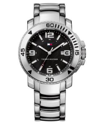 Image of Tommy Hilfiger Watch, Men's Stainless Steel Bracelet 1790814