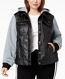 Levi's® Plus Size Colorblocked Moto Jacket