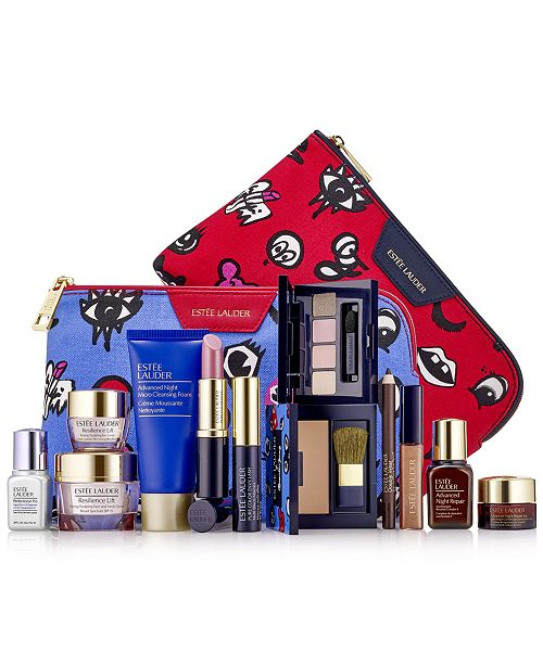 Estee Lauder Choose your FREE 7-Pc. gift with any $37.50 Estée Lauder purchase (Up to $165 Value!), Created for Macy's