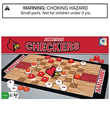 MasterPieces Louisville Cardinals Checkers