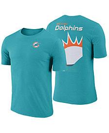 Nike Men's Miami Dolphins Crew Champ T-Shirt