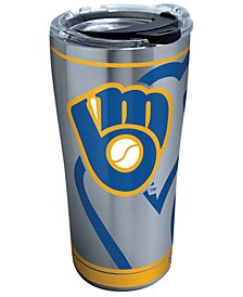 Milwaukee Brewers 20oz. Genuine Stainless Steel Tumbler
