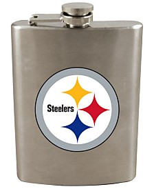 Memory Company Pittsburgh Steelers 8oz Stainless Steel Flask
