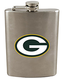 Memory Company Green Bay Packers 8oz Stainless Steel Flask