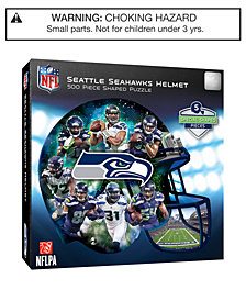 MasterPieces Seattle Seahawks 500 Piece Shaped Puzzle