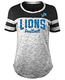 5th & Ocean Women's Detroit Lions Space Dye T-Shirt