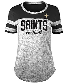 5th & Ocean Women's New Orleans Saints Space Dye T-Shirt