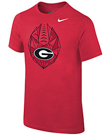 Nike Georgia Bulldogs Icon T-Shirt, Big Boys (8-20)