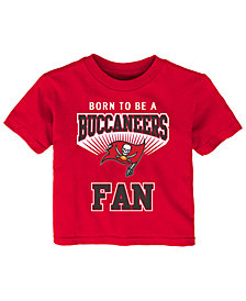 Outerstuff Tampa Bay Buccaneers Born Fan T-Shirt, Infants (12-24 Months)