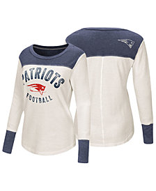 Touch by Alyssa Milano Women's New England Patriots Thermal Long Sleeve T-Shirt