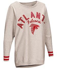 Touch by Alyssa Milano Women's Atlanta Falcons Backfield Long Sleeve Top
