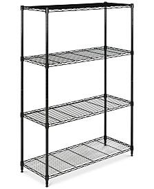 Delta 4-Tier Wire Shelf, Quick Ship