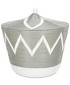 Santori Rattan Jar Basket
