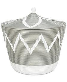 Santori Rattan Jar Basket, Quick Ship