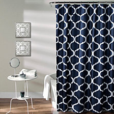 "Geo 72""x 72"" Shower Curtain"