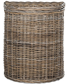 Damari Wicker Hamper, Quick Ship