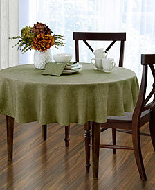 "Elrene Pennington Green 70"" Round Tablecloth"