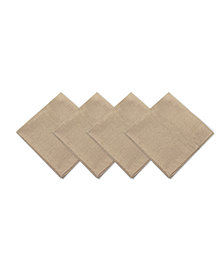 Elrene Pennington Ivory Set of 4 Napkins