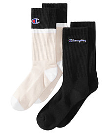 Champion Little & Big Boys 2-Pk. Crew Socks