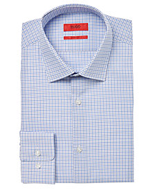 HUGO Men's Slim-Fit Check Dress Shirt