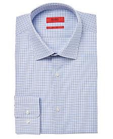 HUGO Men's Slim-Fit Check Dress Shirt