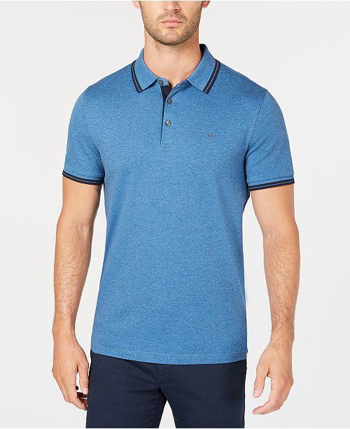 63a0636b Michael Kors Men's Liquid Cotton Greenwich Polo Shirt; Michael Kors Men's  Liquid Cotton Greenwich Polo ...