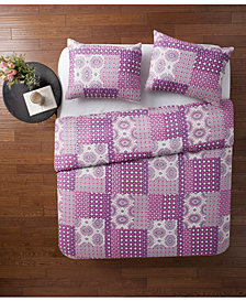 VCNY Home Nadia Patchwork 3-Pc. King Quilt Set