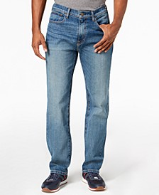 Men's Relaxed Fit Stretch Jeans, Created for Macy's