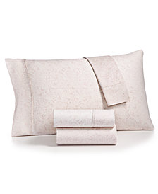 Bari 4-Pc. Paisley Printed King Sheet Set, 350 Thread Count Cotton Blend