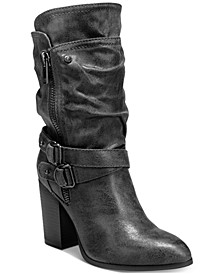 Paisley Mid-Shaft Boots