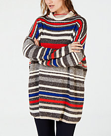 Weekend Max Mara Striped Turtleneck Sweater