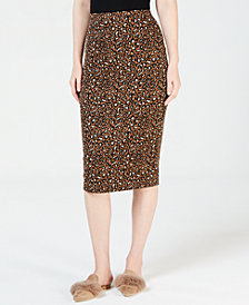 Weekend Max Mara Siamese Printed Pencil Skirt