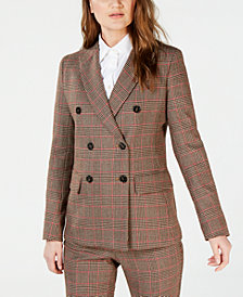 Weekend Max Mara Plaid Blazer