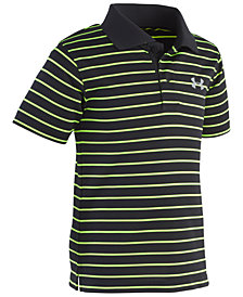 Under Armour Little Boys Playoff Striped Polo