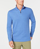 Club Room Mens Quarter-Zip Pullover Sweater Created for Macys