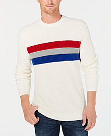 Club Room Men's Ottoman Stripe Sweater, Created for Macy's