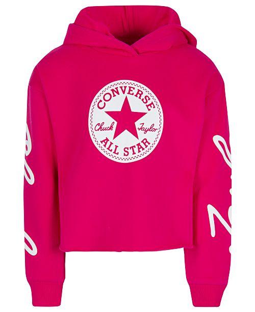 930f1573bfab Converse Big Girls Chuck Taylor Hoodie   Reviews - Sweaters - Kids ...