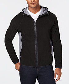 Michael Kors Men's Zip-Front Fleece Hoodie