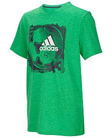 adidas Big Boys Ball-Print T-Shirt