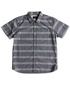 Quiksilver Big Boys Tama Kai Woven Cotton Shirt