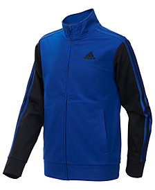 adidas Big Boys Zip-Up Tricot Jacket