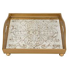Manta Gold 12 Inch Square Tray