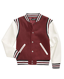 Ring of Fire Big Boys Varsity Jacket, Created for Macy's