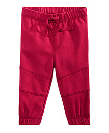 First Impressions Baby Boys Pieced Knee Jogger Pants, Created for Macy's