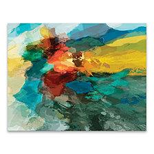 Shapes I Hand Embellished Canvas